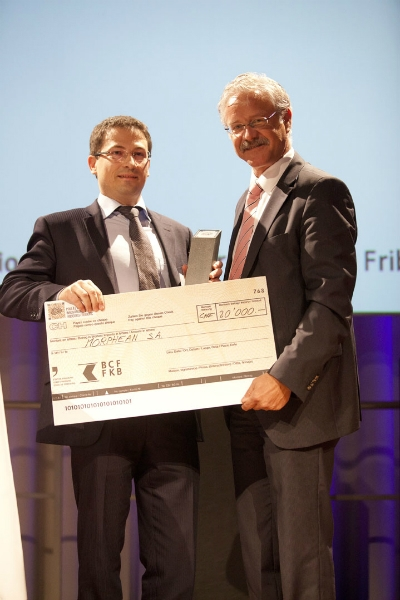 Remise du prix à l'innovation Fribourg, Forum Fribourg, le 28 novembre 2012 Copyright Nicolas Repond
